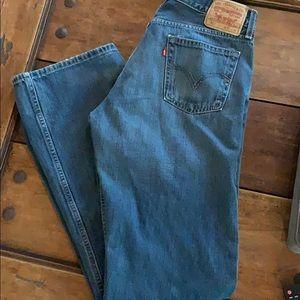 Levi's 527 Low Boot Cut Jeans 34 x 36